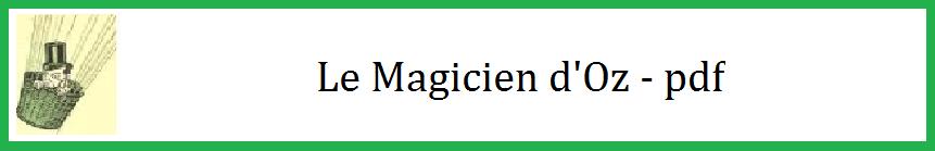 Etiquette magicien d oz pdf