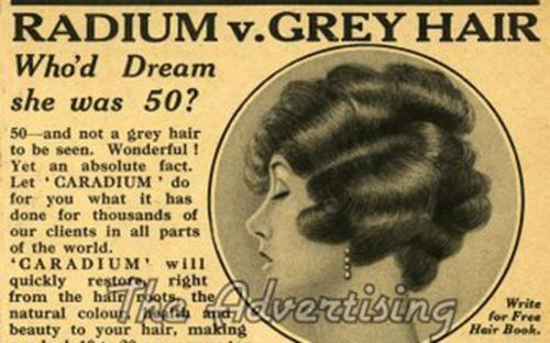 Radium cheveux